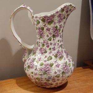 Beautiful Large heavy ceramic pitcher